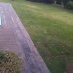 Localización fuga en jardín